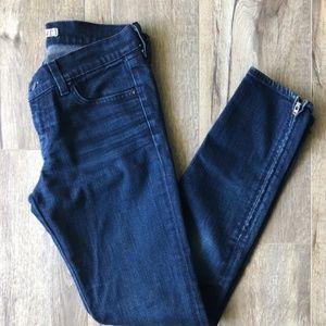 J BRAND 9610 the deal skinny leg dark wash jeans